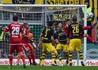 El Dortmund sufre y empata y al Hertha se le va el liderato