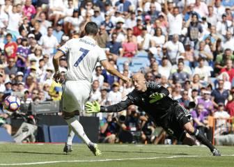 Cristiano Ronaldo lleva 38 días sin marcar en el Bernabéu