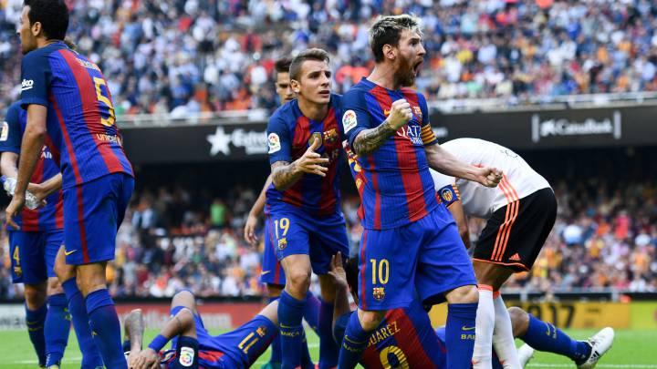 Messi, con el látigo: 14 goles y 6 asistencias en 11 partidos