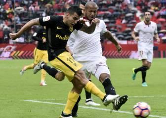 Sevilla-Atlético de Madrid en imágenes