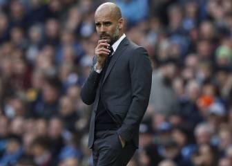 Pep Guardiola iguala su peor racha como entrenador