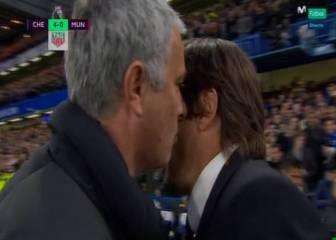Mourinho se encara con Conte: