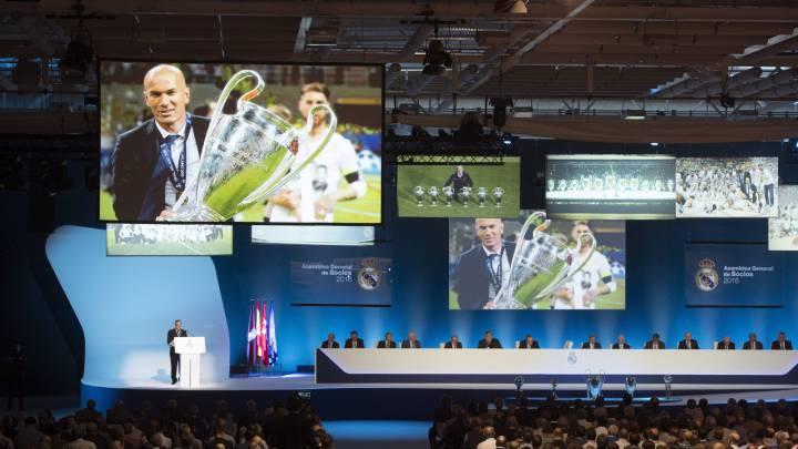 Sigue la Asamblea del Real Madrid 2016 en directo