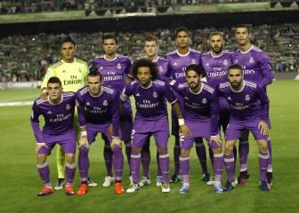 Zidane repite alineación por primera vez en la temporada