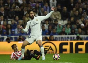 El Bernabéu pitó a Zidane al cambiar a un coreado Isco