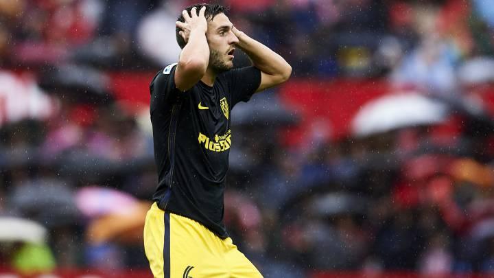 Koke lamenta en Twitter su expulsión ante el Sevilla