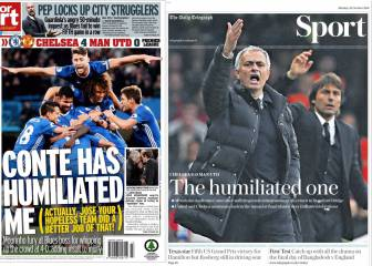 La prensa inglesa carga contra Mourinho: