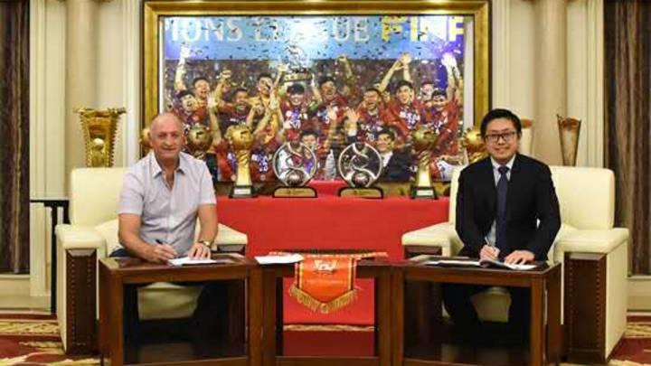 Scolari renueva con el Guangzhou tras ganar la liga