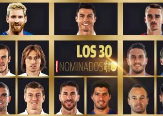 España manda en el Balón de Oro: 13 de los 30 son de LaLiga