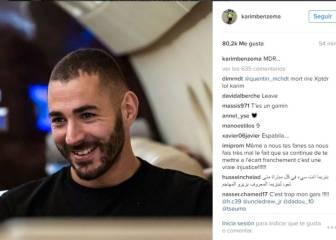 Benzema 'sonríe' tras verse fuera del Balón de Oro