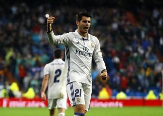 Morata tiene mejor promedio goleador que la BBC