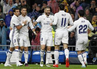 El Madrid: peor tridente pero mejor equipo que el Barça