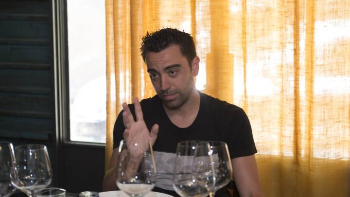 """Otro dardo de Xavi a Mou: """"Si le va mal prefiere la guerra"""""""