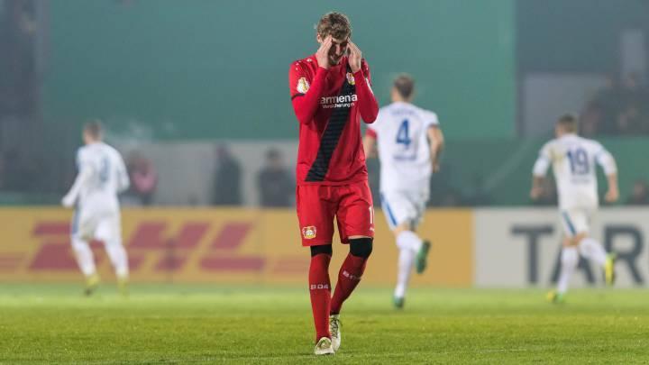 El Bayer Leverkusen, eliminado por un equipo de Tercera División