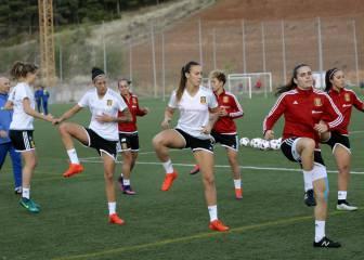 España recibe a Inglaterra, tercera del último Mundial