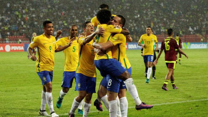 Convocatoria de Brasil para los partidos ante Argentina y Perú