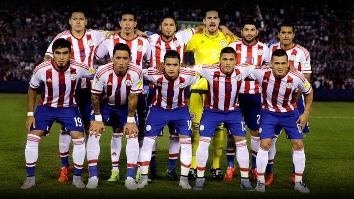 La lista de Paraguay para los partidos ante Perú y Bolivia