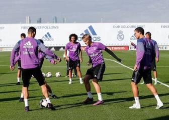 Coentrao entra en la lista y Zidane deja a la BBC en Madrid