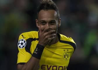 El Dortmund le pide 80 millones al Madrid por Aubameyang