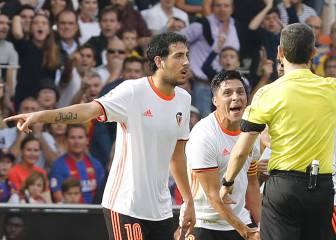Parejo ataca al Barça: