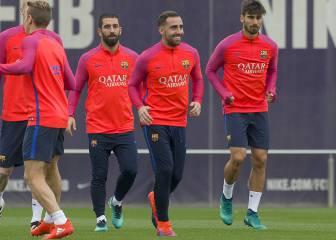 Arda, Gomes, Denis y Alcácer, en el XI de la Supercopa Catalunya