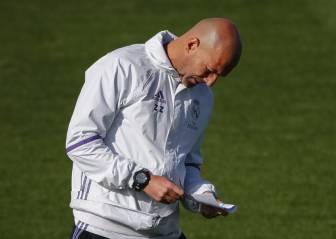 Los 5 jugadores que se examinan ante Zidane: Mariano, Coentrao...