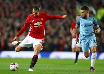 Manchester United 1-Manchester City 0: resumen, resultado y gol