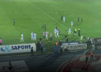 El Pescara-Atalanta paró por los temblores en el centro de Italia
