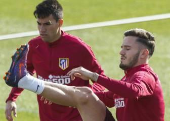Saúl y Gaitán apuntan al once en la visita del Málaga