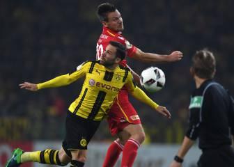 El Dortmund sufre para no seguir los pasos del Leverkusen