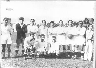 El Madrid es rechazado en el campeonato catalán (1936)