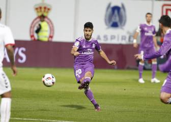 Asensio has already matched his season-best scoring figures