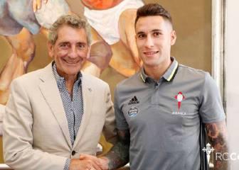 Hugo Mallo amplía su contrato con Celta hasta el 2021