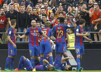 LaLiga denuncia insultos a Messi, el Barça y Cataluña en Mestalla