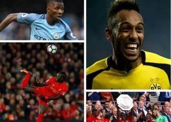 6 africanos que sueñan emular a Weah con el Balón de Oro
