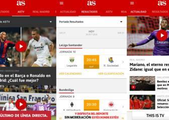 Ya está aquí la nueva App de AS: mejor, más personalizable...