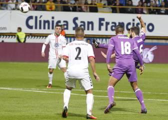 La FIFA considera el gol de Nacho para el Premio Puskas