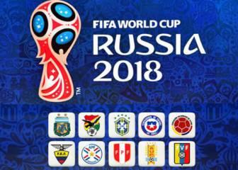 Estos son los partidos de las jornadas 11 y 12 de las eliminatorias sudamericanas