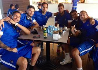 Chory Castro 'uruguayizó' a Griezmann en la Real Sociedad