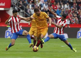 El Sevilla detiene su excelente racha ante el Sporting