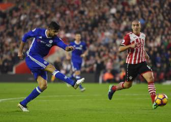 Diego Costa sigue enrachado y guía al Chelsea a la victoria