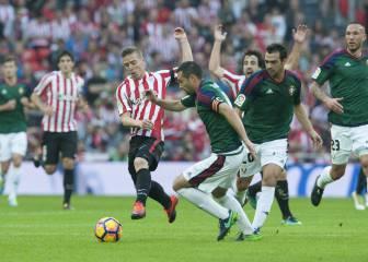 Osasuna sufre en San Mamés para arañar otro punto