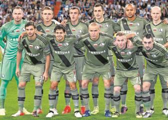 El Real Madrid se medirá a un Legia recuperado en Liga