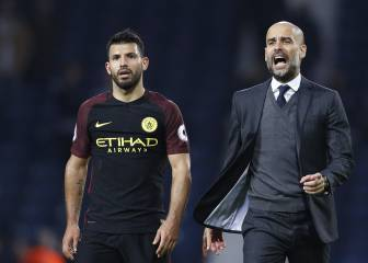 Guardiola compara a Messi con Agüero: