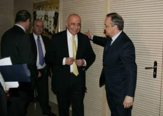 'La Gazzetta': Galliani podría ser el próximo ejecutivo del Madrid