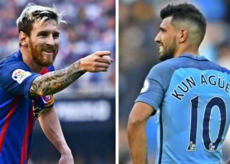 Messi vs Agüero: la guerra del 10