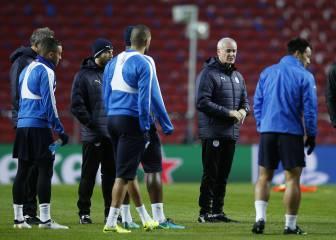 El Leicester puede clasificarse si vence y no gana el Oporto
