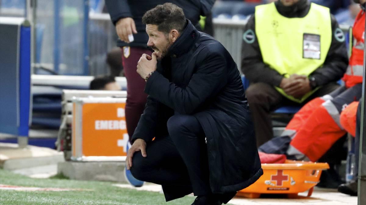 Simeone: I made bad decisions in Rostov win