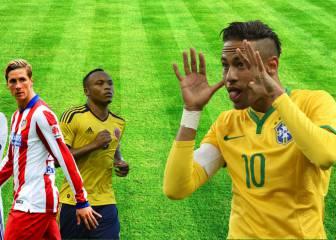 Los 10 jugadores a los que Neymar sacó de quicio