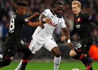 Kampl coloca segundo al Bayer y deja tocado al Tottenham